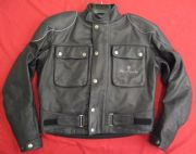 "HEIN GERICKE CLASSIC GTX GORETEX LEATHER WATERPROOF JACKET UK 41 42"" Chest EU 52"